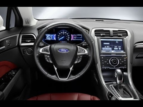 2018 ford mondeo new design interior youtube. Black Bedroom Furniture Sets. Home Design Ideas