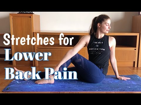 Five Stretches to Relieve Low Back Pain for Martial Artists