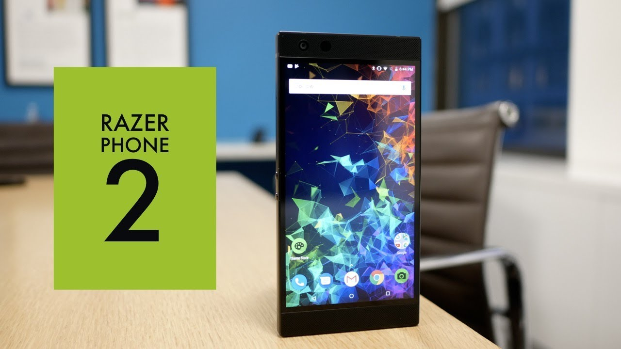 Razer Phone 2 gives the fans what they want: RGB chroma