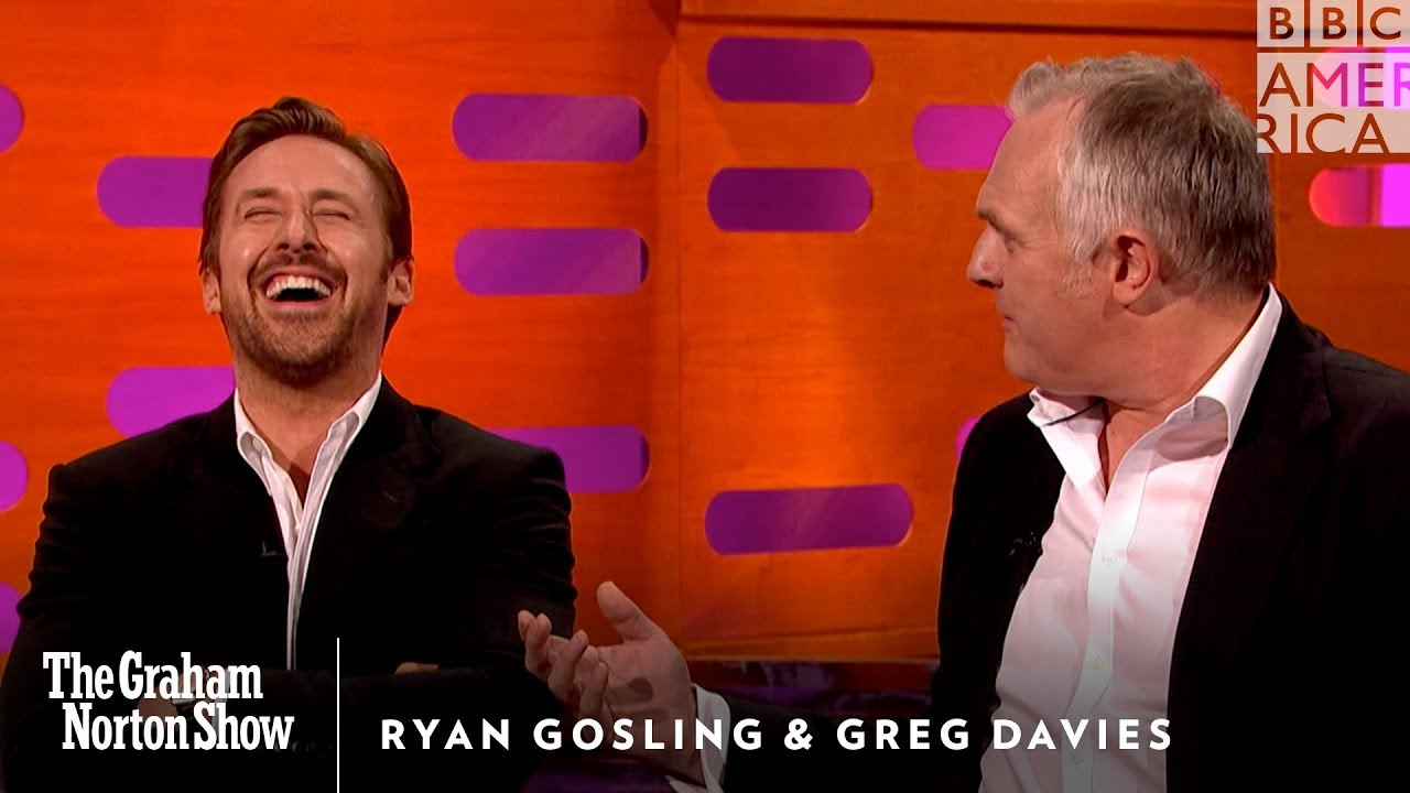 Drunk History Christmas 2011.Watch Ryan Gosling Lose It Over Greg Davies Drunk Tale The Graham Norton Show