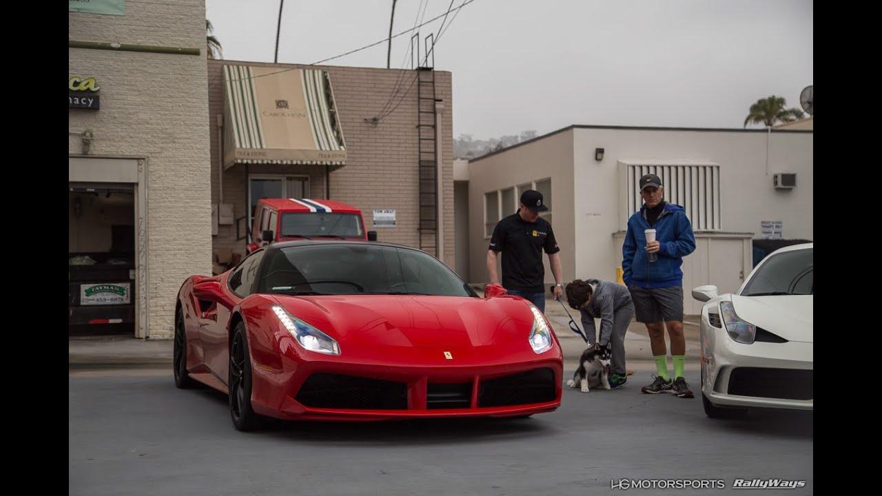 Ferrari And Maserati Day   Cars And Coffee La Jolla