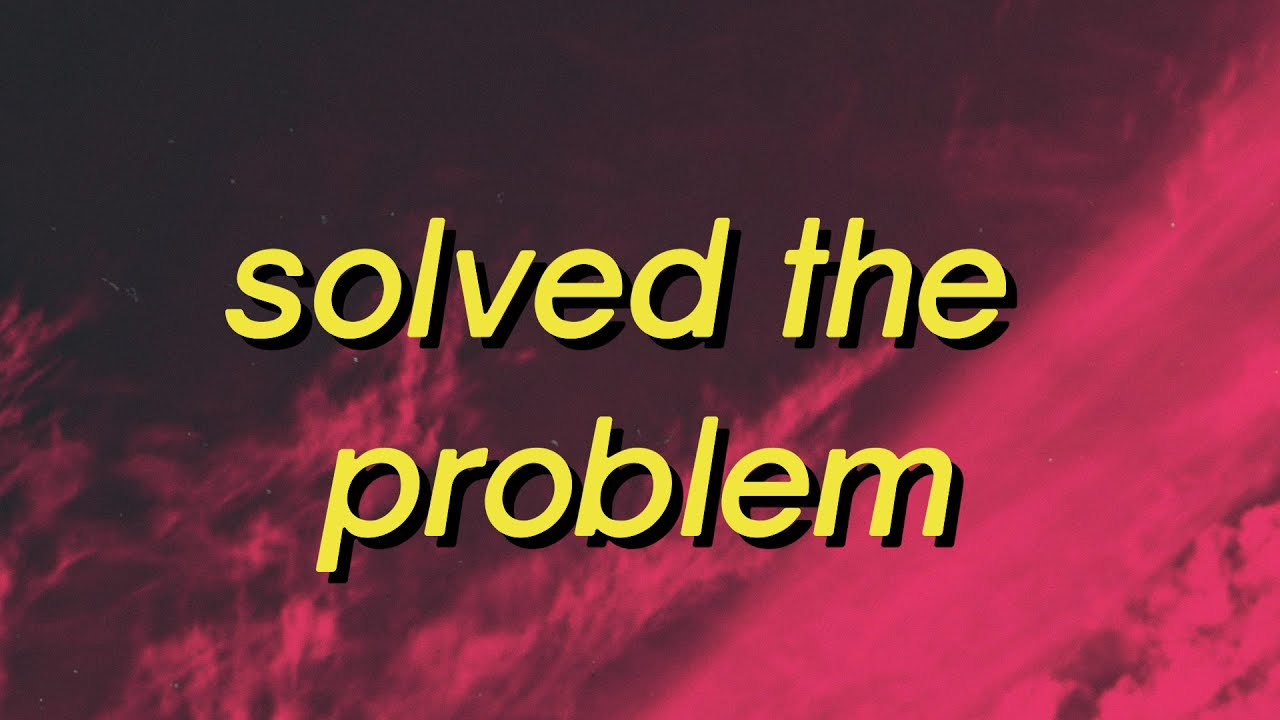 Comethazine - SOLVED THE PROBLEM (Lyrics)I slapped him with the chrome then put a bullet in his dome