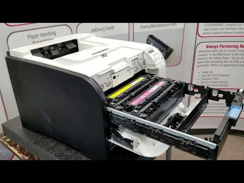 How To Remove and Replace HP M351 M451 Fuser Maintenance Kit. RM1-8054 RM2-5177 Part 1