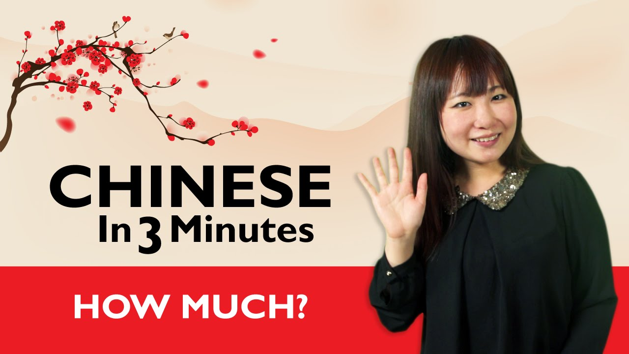 Chinese In Three Minutes How Much