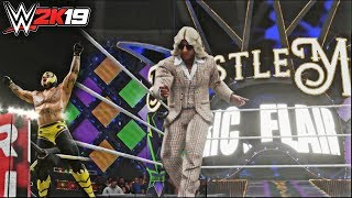 WWE 2K19 Roster Reveal Part 3 Short Entrance Clips! (feat. Wrestlemania 34, Rey Mysterio, & More!)