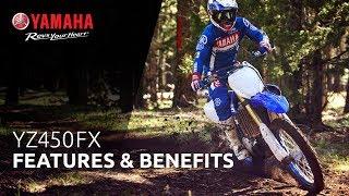 Yamaha YZ450FX Features & Benefits