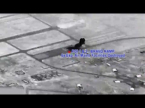 لأول مرة.. البنتاغون يكشف عن مشاهد قصف إيران لقاعدة الأسد في العراق انتقاما لقاسم سليماني…  - نشر قبل 4 ساعة