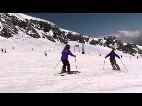 Ski Instructor Academy shows you around on the kitzsteinhorn, kaprun, austria