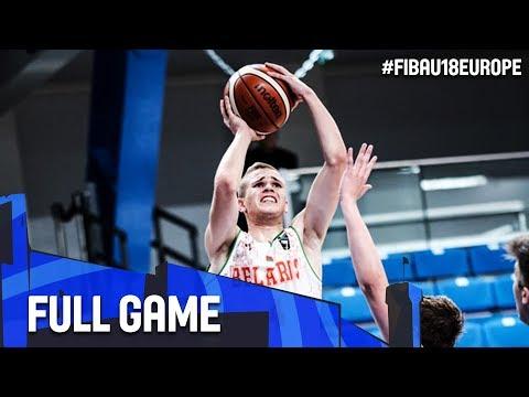 Belarus v Bulgaria - Full Game - FIBA U18 European Championship 2017 - DIV B