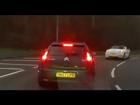 Crash for Cash or Bad Driving? Dash Cam Footage -Telford