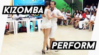 Kizomba Improvisation - Kristofer Mencák & Anais Barthe - Exalta Afro Festival