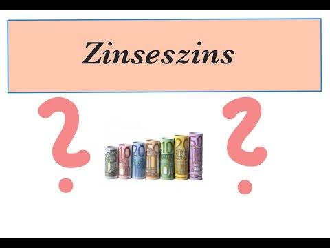 Zinseszinsformel Umstellen,  Zinssatz Berechnen (Video 4)