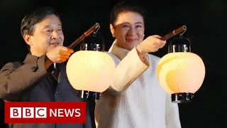 Festival celebrates Japan emperor's enthronement - BBC News
