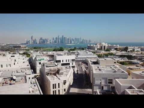 لقطات جوية لمشيرب قلب الدوحة - Drone Footage of Msheireb Downtown Doha