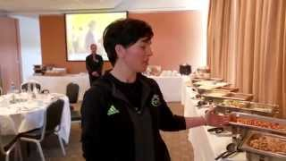 Munster Rugby's Pre-Match Nutrition Insight