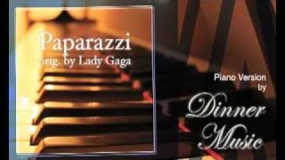Paparazzi - lady gaga (piano version ...