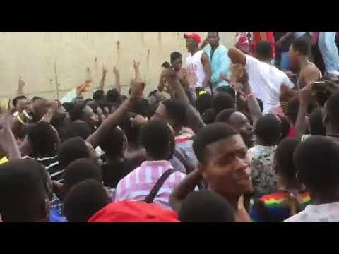 Casford Hall Students Thrill Black Stars With Massive Support Ahead Of Ghana-South Africa Clash