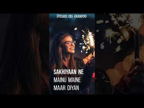 Ek Passe Tu Babbu Female Version Full Screen Whatsapp Status Sakhiyan Female Version | Manninder But
