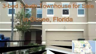 3-bed 3-bath Townhouse for Sale in Ocoee, Florida on florida-magic.com