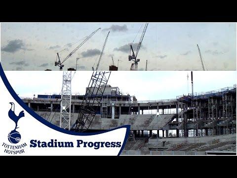 OUR NEW HOME #1 | Spurs New Stadium Progress (November - February)