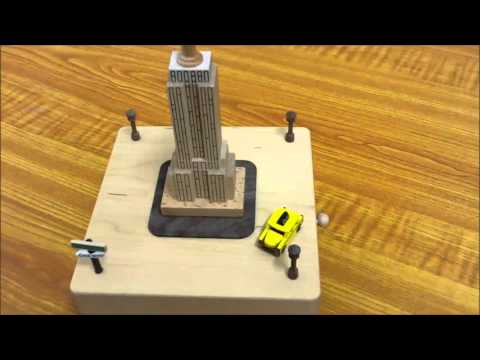New York Moving Wooden Musical Box | Wooderful Life