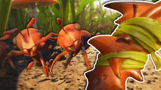 Killing The ANT INVASION With Heavy Weapons in Grounded