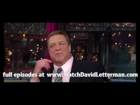 John Goodman in Late Show with David Letterman 2010-06-16