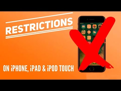 Set up Parental Controls on iPhone, iPad, and iPod touch - (Complete Guide!) - 2017