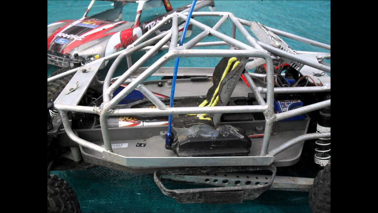 hight resolution of traxxas slash with rollcage silver wmv