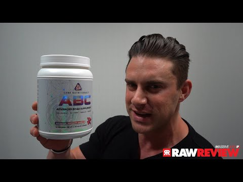 Core Nutritionals ABC Amino Acid BCAA Supplement   MassiveJoes Raw Review