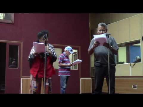 En Radio Progreso de Cuba - Grabación de Alegrías de Sobremesa