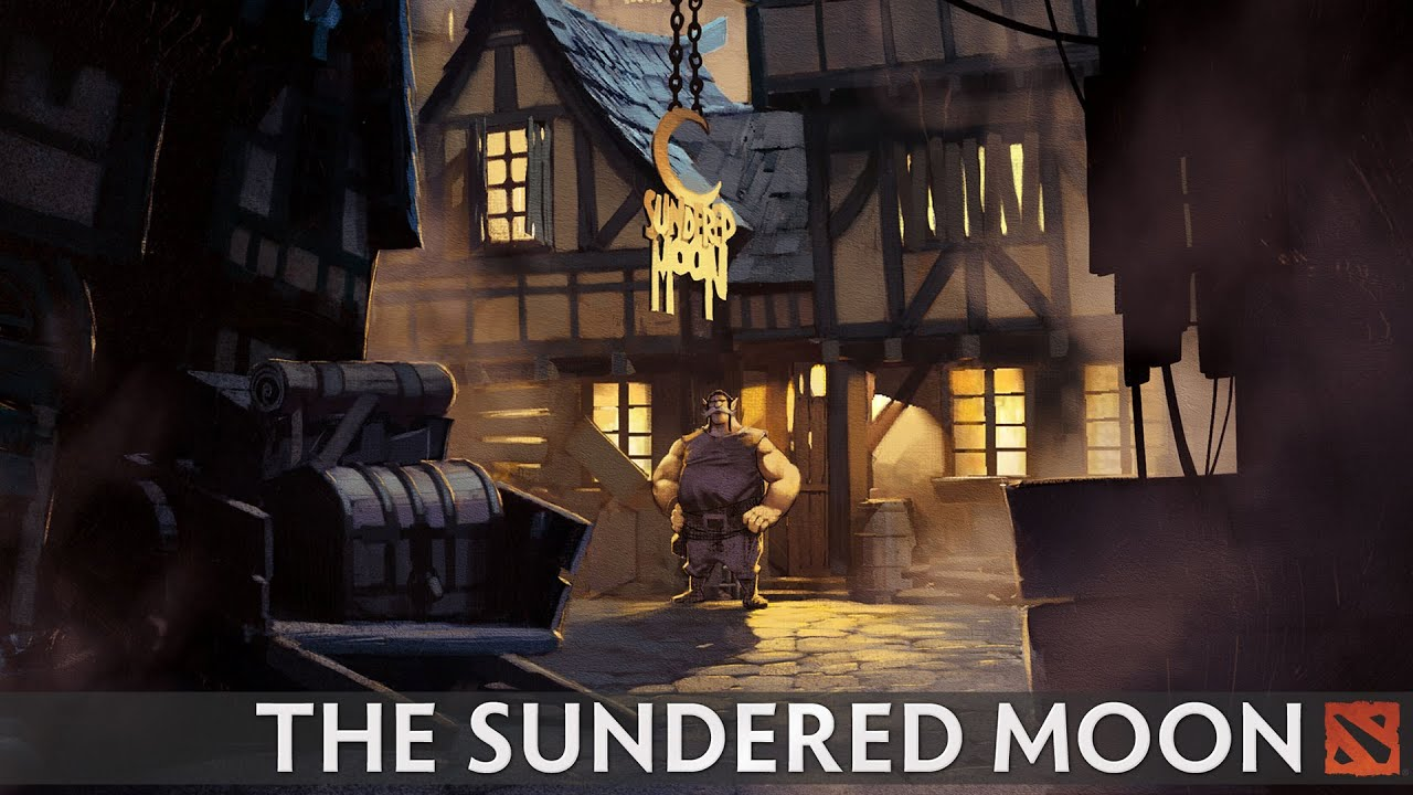 THE SUNDERED MOON Comics Dota 2