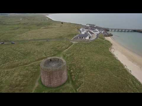 Magilligan Point From The Air