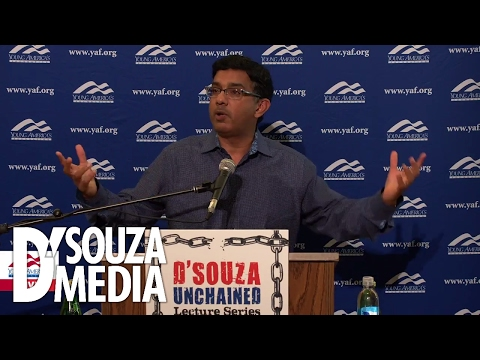 Dinesh D'Souza is UNCHAINED at Columbia University