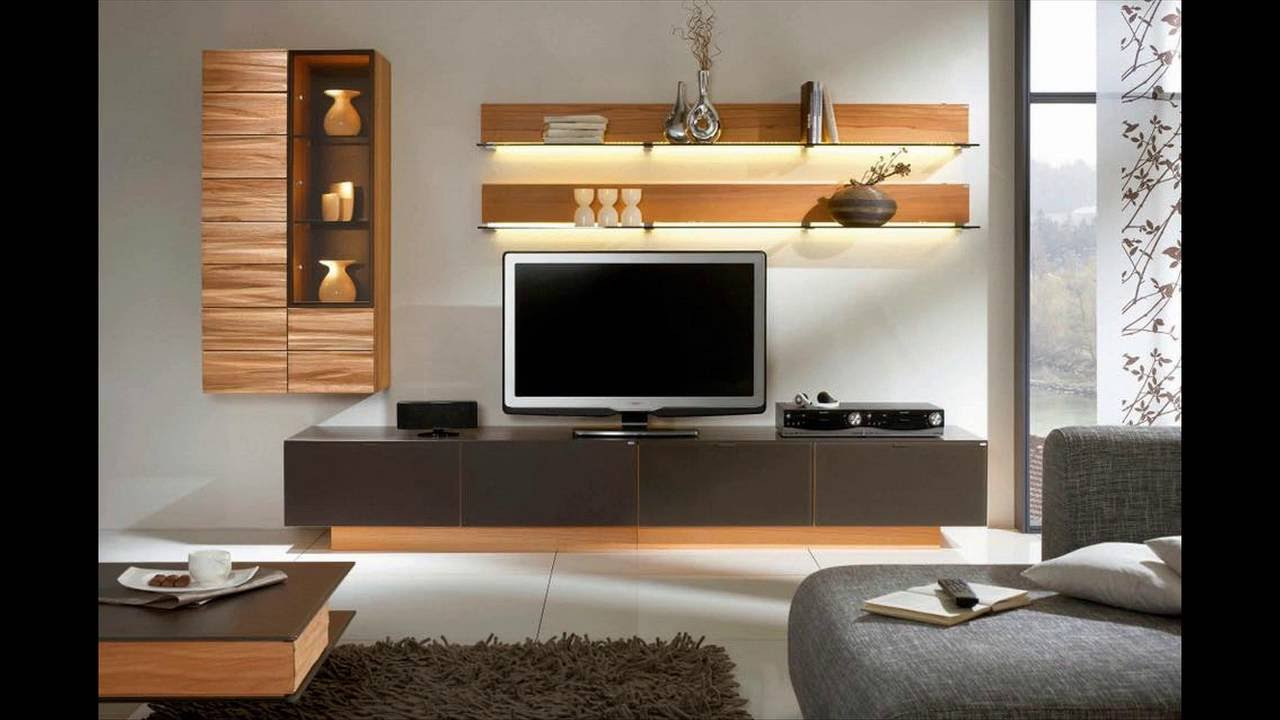 Living Room With Tv Ideas Part - 22: TV Stand Ideas For Living Room - YouTube