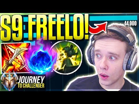 THIS CHAMP 100% WILL DESTROY S9!! FREELO - Journey To Challenger | League of Legends thumbnail