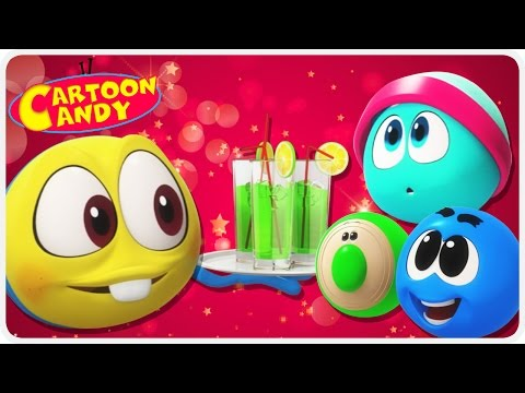 WonderBalls - New Year's Eve | Funny Cartoons For Children | Cartoon Candy