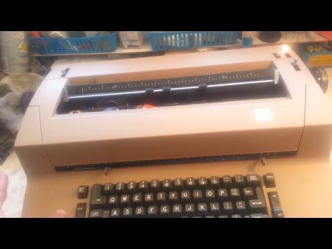 IBM Selectric Typewriter Shift Trouble
