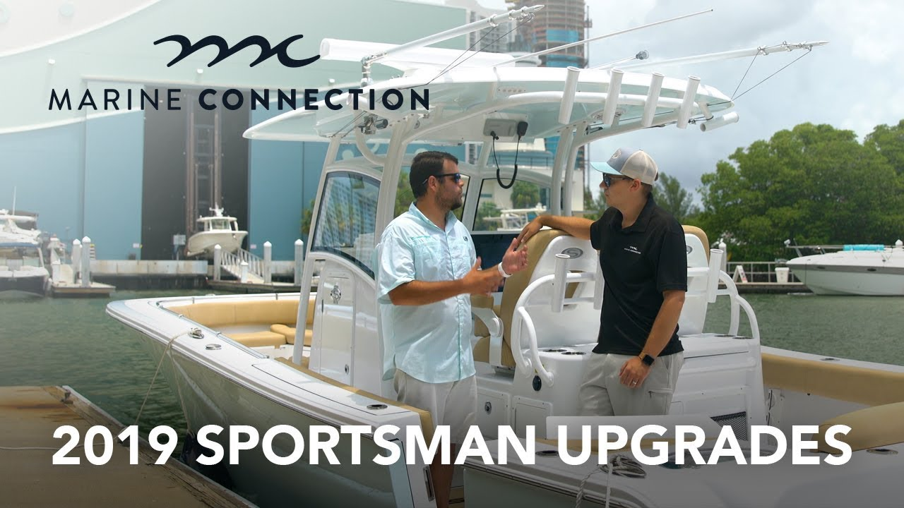 Sportsman Boats 2019 Model Year Upgrades & Changes - Marine Connection