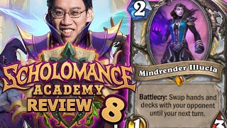 ALL 63 REMAINING CARDS!! - Scholomance Academy Review #8 | Hearthstone
