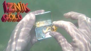 İznik gölünde altın aradık.treasure
