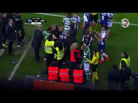 Polémica: Fábio Coentrão (FC Porto - Sporting)