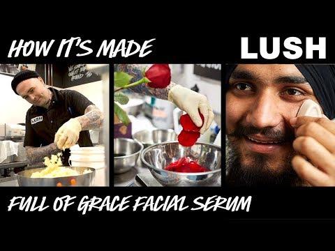 Lush How It's Made: Full Of Grace Serum