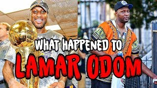 from nba star to drug addict what happened to lamar odom