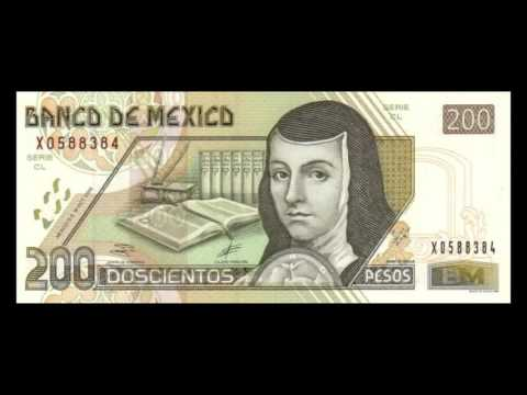 All Mexican Peso Banknotes - 2000 To 2002 Issues