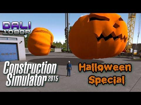 Dali Halloween Special - Construction Simulator 2015