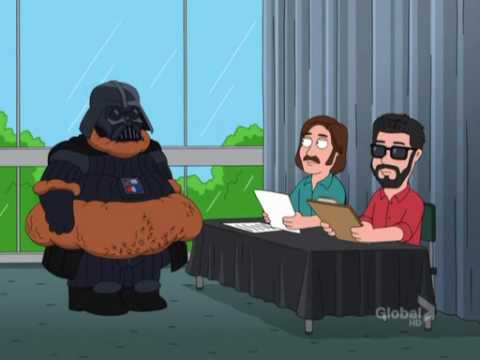 James earl jones audition - YouTubeJames Earl Jones Darth Vader Family Guy