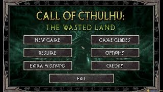 Call of Cthulhu: The Wasted Land gameplay (PC Game, 2011)