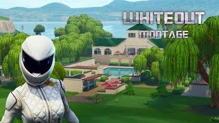 New Whiteout skin montage... (Fortnite Battle Royale)
