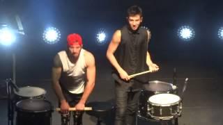 """Dual Drummers"" Twenty One Pilots@Rams Head Live Baltimore 12/16/13 Vessel Tour"